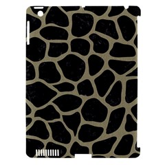 Skin1 Black Marble & Khaki Fabric Apple Ipad 3/4 Hardshell Case (compatible With Smart Cover) by trendistuff