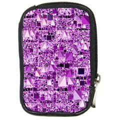 Modern Geo Fun,lilac Compact Camera Cases by MoreColorsinLife
