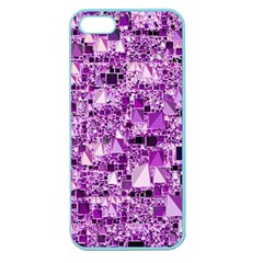 Modern Geo Fun,lilac Apple Seamless Iphone 5 Case (color) by MoreColorsinLife
