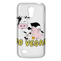 Friends Not Food   Cute Pig And Chicken Galaxy S4 Mini by Valentinaart