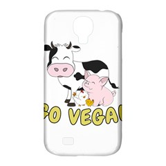 Friends Not Food   Cute Pig And Chicken Samsung Galaxy S4 Classic Hardshell Case (pc+silicone) by Valentinaart
