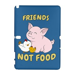 Friends Not Food   Cute Pig And Chicken Galaxy Note 1 by Valentinaart