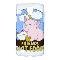 Friends Not Food   Cute Pig And Chicken Galaxy S4 Active by Valentinaart