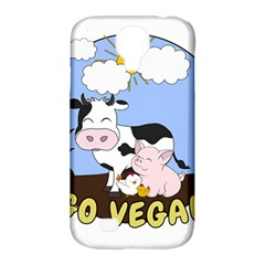 Friends Not Food   Cute Cow, Pig And Chicken Samsung Galaxy S4 Classic Hardshell Case (pc+silicone) by Valentinaart