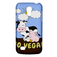 Friends Not Food   Cute Cow, Pig And Chicken Galaxy S4 Mini by Valentinaart