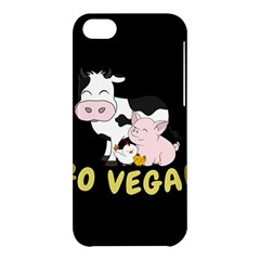 Friends Not Food   Cute Cow, Pig And Chicken Apple Iphone 5c Hardshell Case by Valentinaart