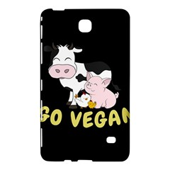 Friends Not Food   Cute Cow, Pig And Chicken Samsung Galaxy Tab 4 (8 ) Hardshell Case  by Valentinaart