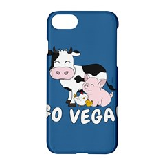 Friends Not Food   Cute Cow, Pig And Chicken Apple Iphone 8 Hardshell Case by Valentinaart