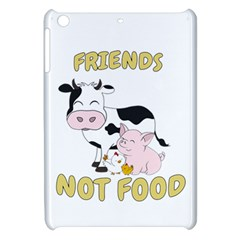 Friends Not Food   Cute Cow, Pig And Chicken Apple Ipad Mini Hardshell Case by Valentinaart