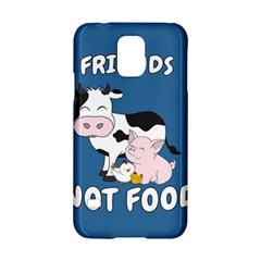 Friends Not Food   Cute Cow, Pig And Chicken Samsung Galaxy S5 Hardshell Case  by Valentinaart