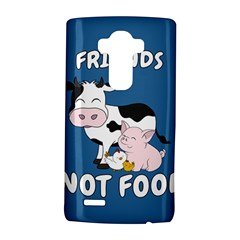 Friends Not Food   Cute Cow, Pig And Chicken Lg G4 Hardshell Case by Valentinaart
