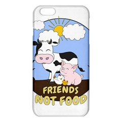 Friends Not Food   Cute Cow, Pig And Chicken Iphone 6 Plus/6s Plus Tpu Case by Valentinaart