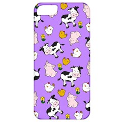 The Farm Pattern Apple Iphone 5 Classic Hardshell Case by Valentinaart