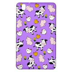 The Farm Pattern Samsung Galaxy Tab Pro 8 4 Hardshell Case by Valentinaart