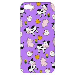 The Farm Pattern Apple Iphone 5 Hardshell Case by Valentinaart