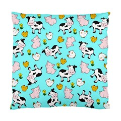 The Farm Pattern Standard Cushion Case (two Sides) by Valentinaart