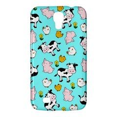 The Farm Pattern Samsung Galaxy Mega 6 3  I9200 Hardshell Case by Valentinaart