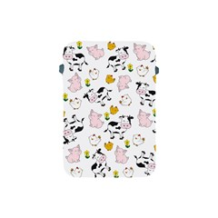 The Farm Pattern Apple Ipad Mini Protective Soft Cases by Valentinaart