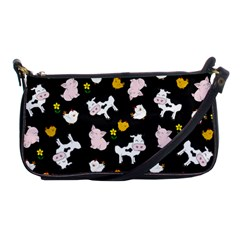 The Farm Pattern Shoulder Clutch Bags by Valentinaart