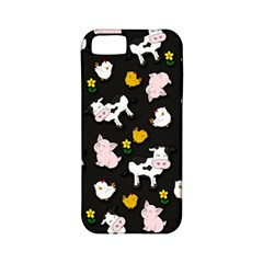 The Farm Pattern Apple Iphone 5 Classic Hardshell Case (pc+silicone) by Valentinaart