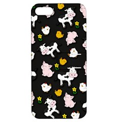 The Farm Pattern Apple Iphone 5 Hardshell Case With Stand by Valentinaart