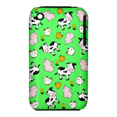 The Farm Pattern Iphone 3s/3gs by Valentinaart
