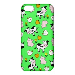 The Farm Pattern Apple Iphone 5c Hardshell Case by Valentinaart