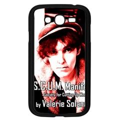 Valerie Solanas Samsung Galaxy Grand Duos I9082 Case (black) by Valentinaart