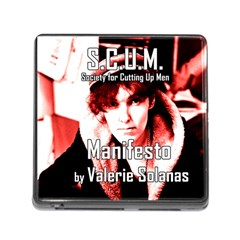 Valerie Solanas Memory Card Reader (square) by Valentinaart