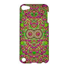 Love The Wood Garden Of Apples Apple Ipod Touch 5 Hardshell Case by pepitasart