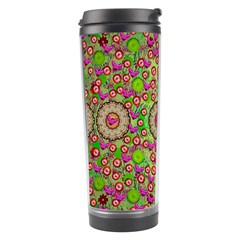 Love The Wood Garden Of Apples Travel Tumbler by pepitasart