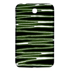 Sketched Wavy Stripes Pattern Samsung Galaxy Tab 3 (7 ) P3200 Hardshell Case  by dflcprints