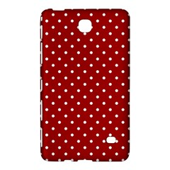 Red Polka Dots Samsung Galaxy Tab 4 (8 ) Hardshell Case  by jumpercat