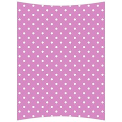 Pink Polka Dots Back Support Cushion by jumpercat