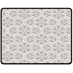 Background Wall Stone Carved White Fleece Blanket (medium)  by Nexatart