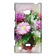 Flowers Roses Bouquet Art Nature Nokia Lumia 720 by Nexatart
