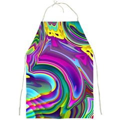 Background Art Abstract Watercolor Full Print Aprons by Nexatart