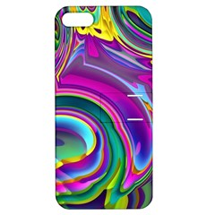 Background Art Abstract Watercolor Apple Iphone 5 Hardshell Case With Stand by Nexatart