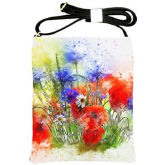Flowers Bouquet Art Nature Shoulder Sling Bags by Nexatart
