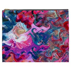 Background Art Abstract Watercolor Cosmetic Bag (xxxl)  by Nexatart