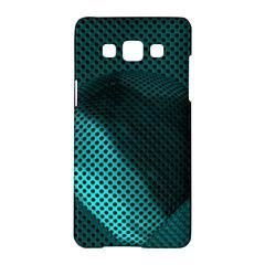 Background Sphere Ball Metal Blue Samsung Galaxy A5 Hardshell Case  by Nexatart