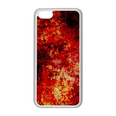 Background Art Abstract Watercolor Apple Iphone 5c Seamless Case (white) by Nexatart