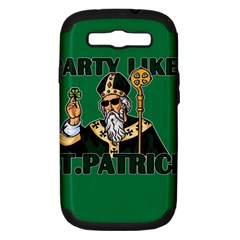 St  Patricks Day  Samsung Galaxy S Iii Hardshell Case (pc+silicone) by Valentinaart
