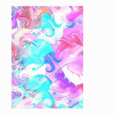 Background Art Abstract Watercolor Pattern Large Garden Flag (two Sides) by Nexatart