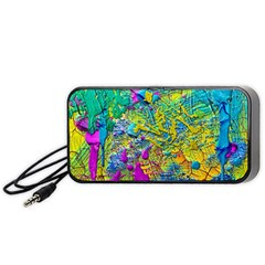 Background Art Abstract Watercolor Portable Speaker by Nexatart