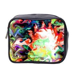 Background Art Abstract Watercolor Mini Toiletries Bag 2 Side by Nexatart