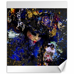 Mask Carnaval Woman Art Abstract Canvas 8  X 10  by Nexatart