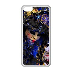Mask Carnaval Woman Art Abstract Apple Iphone 5c Seamless Case (white) by Nexatart