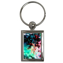 Background Art Abstract Watercolor Key Chains (rectangle)  by Nexatart
