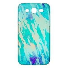 Blue Background Art Abstract Watercolor Samsung Galaxy Mega 5 8 I9152 Hardshell Case  by Nexatart